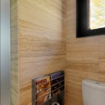 Toilet Paper Holder Height for Rustic Bathroom with Magazine Rack