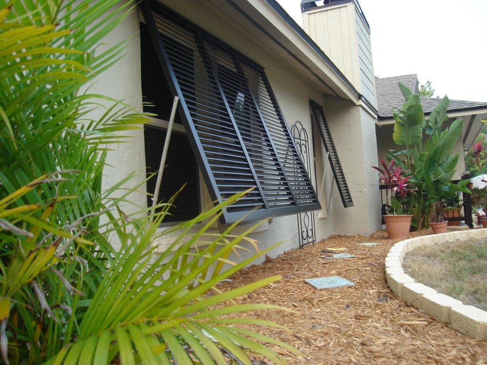Tommy Bahama Orlando for Tropical Spaces with Bahama Shutters