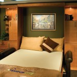Tommy Bahamas Palm Desert for Contemporary Bedroom with Disappearing Bed