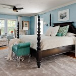 Tommy Bahamas Palm Desert for Contemporary Bedroom with Turquoise Bench