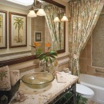 Tommy Bahamas Palm Desert for Tropical Bathroom with White Wood
