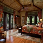 Tommy Bahamas Palm Desert for Tropical Bedroom with Bamboo