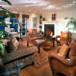 Tommy Bahamas Palm Desert for Tropical Living Room with Area Rug