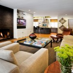 Tony Brown Chevrolet for Modern Family Room with Beige Wall