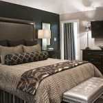 Tony Brown Chevrolet for Transitional Bedroom with Upholstered Headboard