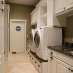 Top Loader vs Front Loader for Contemporary Laundry Room with Contemporary