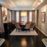 Tradewinds Furniture for Traditional Dining Room with Wood Flooring
