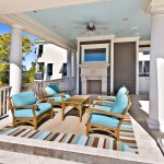 Tradewinds Furniture for Traditional Porch with Tile