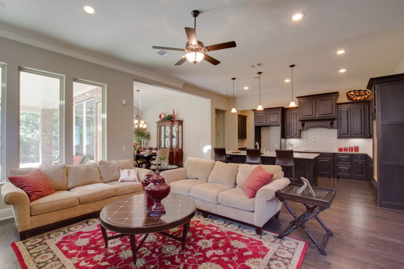 Trendmaker Homes for Traditional Living Room with Traditional
