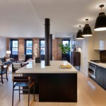 Tribeca Salon for Contemporary Kitchen with Kitchen