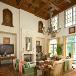 Tribeca Salon for Mediterranean Living Room with Upholstered Chairs