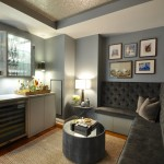 Tribeca Salon for Transitional Home Bar with Salon Style