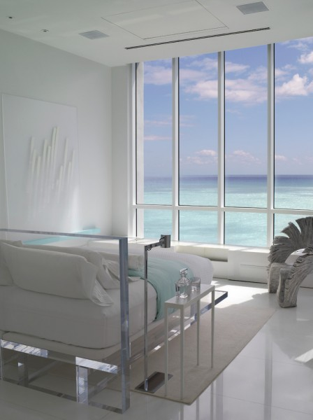 Turnberry Ocean Club for Tropical Bedroom with Window Wall