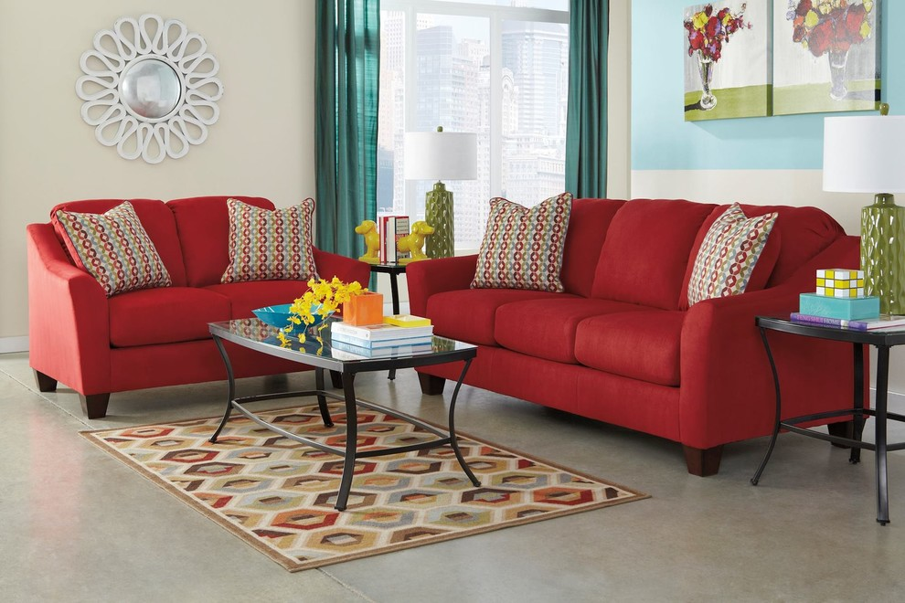 Turners Furniture for Transitional Living Room with Furniture