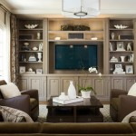 Ubuildit for Traditional Family Room with Brown Sofa