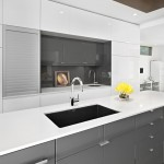 Unclog Kitchen Sink for Modern Kitchen with Two Tone Cabinets