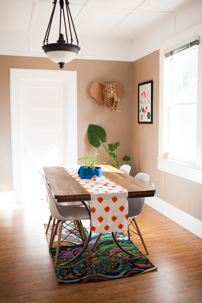 Uncommongoods for Eclectic Dining Room with Pendant Light