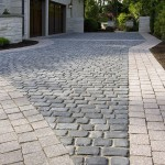 Unilock Pavers for Traditional Landscape with Granite Banding