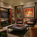 United Artist Laguna for Contemporary Family Room with Earth Tone Colors
