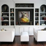 United Artist Laguna for Contemporary Living Room with Wall Decor