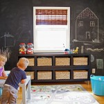 United Artist Laguna for Transitional Kids with Roman Shades