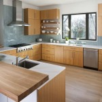 Urban Home Sherman Oaks for Contemporary Kitchen with Glass Tile
