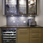 Urban Home Sherman Oaks for Contemporary Kitchen with Wine Refrigerator