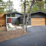 Urban Home Sherman Oaks for Midcentury Exterior with Two Car Garage