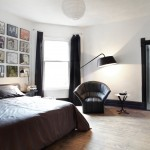 Urban Outfitters Duvet Covers for Contemporary Bedroom with Floor Lamp