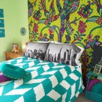 Urban Outfitters Duvet Covers for Eclectic Kids with Wall Hanging