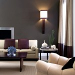 Urban Squared Realty for Transitional Living Room with Round Side Table