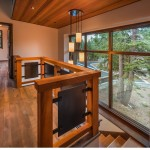 Valhalla Tahoe for Modern Staircase with Wood Paneling