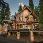 Valhalla Tahoe for Rustic Exterior with Cabin