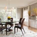 Vienna Waits for You for Transitional Dining Room with Muntins