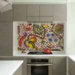 Vinyl vs Laminate for Eclectic Kitchen with Handleless Cabinets