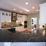 Virginia Mist Granite for Contemporary Kitchen with Contemporary