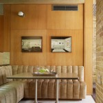 Vista Ford Oxnard for Midcentury Dining Room with Aggregate Flooring