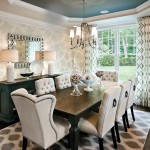 Vitex Reviews for Transitional Dining Room with Drapery