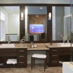 Voss Lighting for Contemporary Bathroom with Sconce