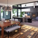 Voss Lighting for Contemporary Dining Room with Dining Table