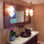 Voss Lighting for Tropical Bathroom with Recessed Lighting