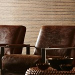 Wallauer for Transitional Living Room with Fabrics