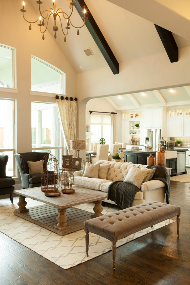 Walnut Creek Furniture for Traditional Living Room with White Area Rug