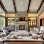 Walnut Creek Furniture for Transitional Living Room with Cathedral Ceiling