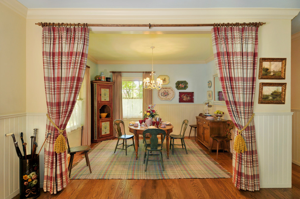 Walnut Creek Medical Group for Farmhouse Dining Room with Wood Floor