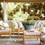 Walters Wicker for Eclectic Porch with Teak Furniture