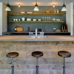 Warner Robins Supply for Contemporary Kitchen with Open Shelving