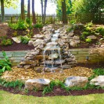 Water Spicket for Traditional Landscape with Rock Waterfall