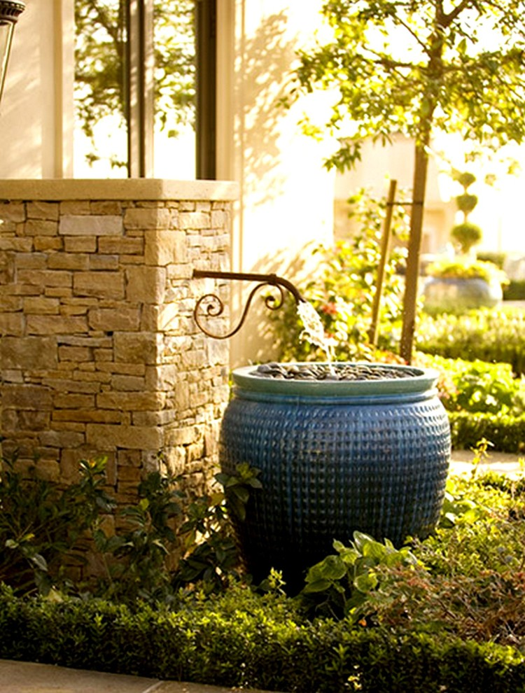 Water Spigot for Eclectic Exterior with Eclectic