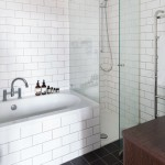 Watermark Apartments for Scandinavian Bathroom with Shower Enclosure